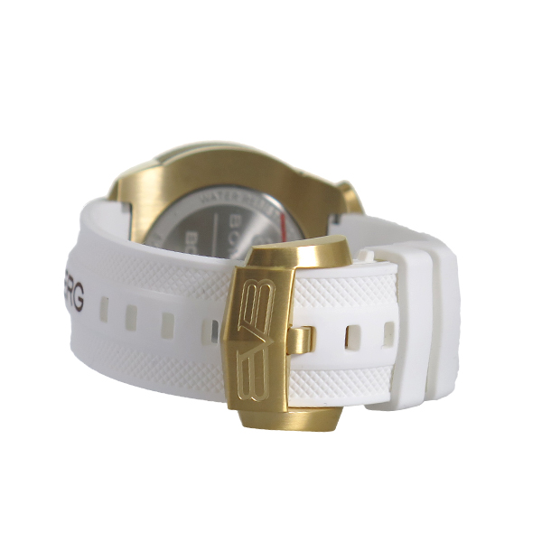 ボンバーグ BOMBERG クオーツ クロノ メンズ 腕時計 BS45CHPG-032-3 ホワイト ホワイト【送料無料】【ポイント10倍】