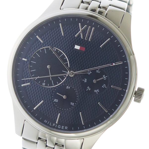 トミー ヒルフィガー TOMMY HILFIGER クオーツ メンズ 腕時計 1791416 ネイビー ネイビー【送料無料】