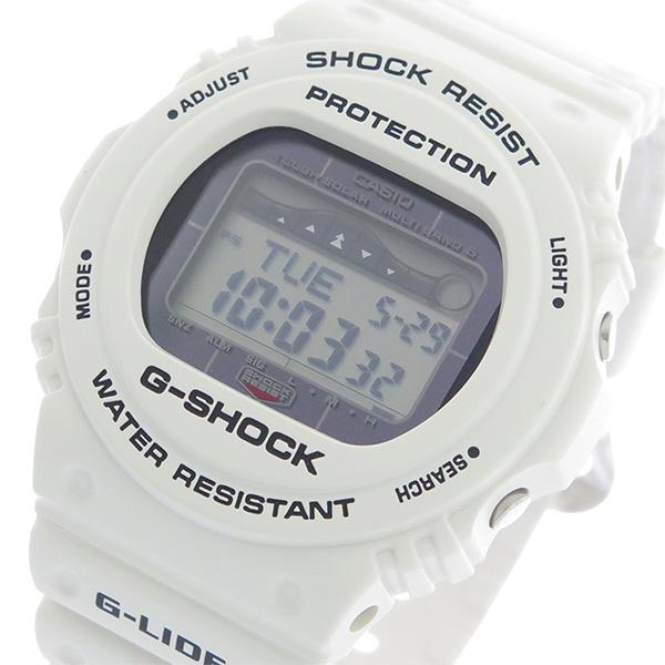 カシオ CASIO Gショック G-SHOCK G-LIDE メンズ 腕時計 GWX-5700CS-7JF ホワイト/ホワイト 国内正規 ホワイト【送料無料】