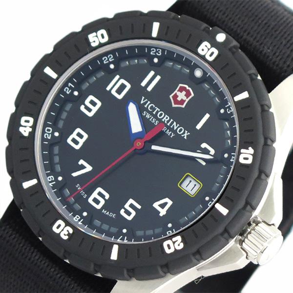ビクトリノックス VICTORINOX 腕時計 メンズ 241674-1 クォーツ ブラック ブラック【送料無料】