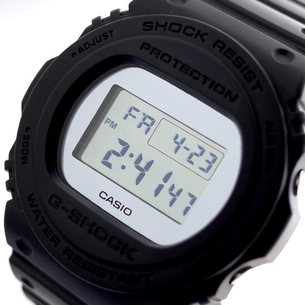 カシオ CASIO 腕時計 メンズ レディース DW-5700BBMA-1 Gショック G-SHOCK クォーツ シルバーミラー ブラック ミラーシルバー【送料無料】