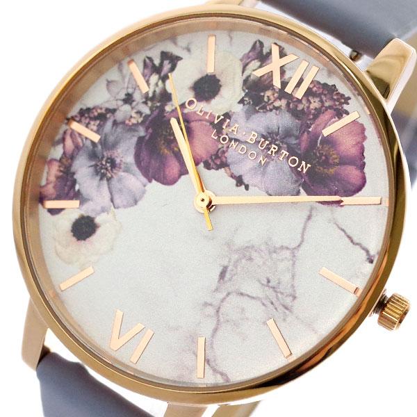 オリビアバートン OLIVIA BURTON 腕時計 レディース OB16MF10 クォーツ ホワイト ライトブルー ホワイト【送料無料】