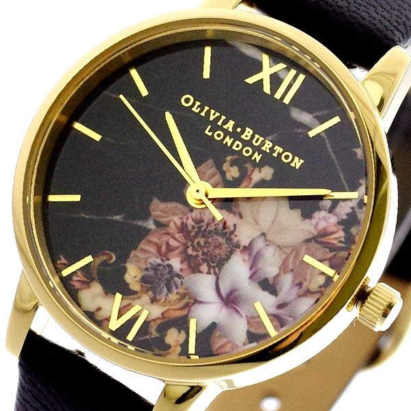 オリビアバートン OLIVIA BURTON 腕時計 レディース OB16CS11 クォーツ ブラック ブラック【送料無料】