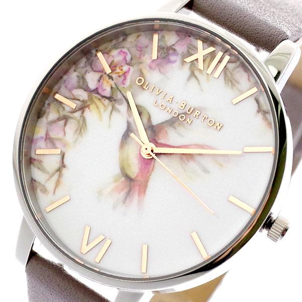 オリビアバートン OLIVIA BURTON 腕時計 レディース OB16PP23 クォーツ ブラック グレー ブラック【送料無料】