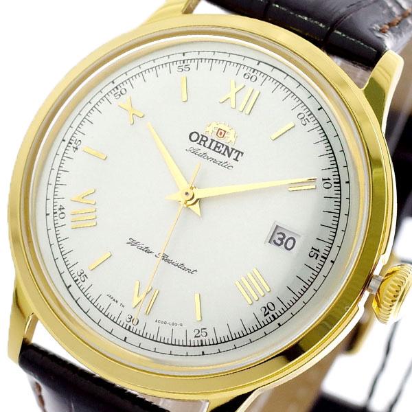 オリエント ORIENT 腕時計 メンズ SAC00007W0 自動巻き ホワイト ダークブラウン ホワイト【送料無料】
