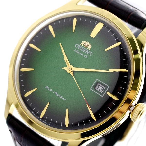 オリエント ORIENT 腕時計 メンズ FAC08002F0 自動巻き グリーン ダークブラウン グリーン【送料無料】