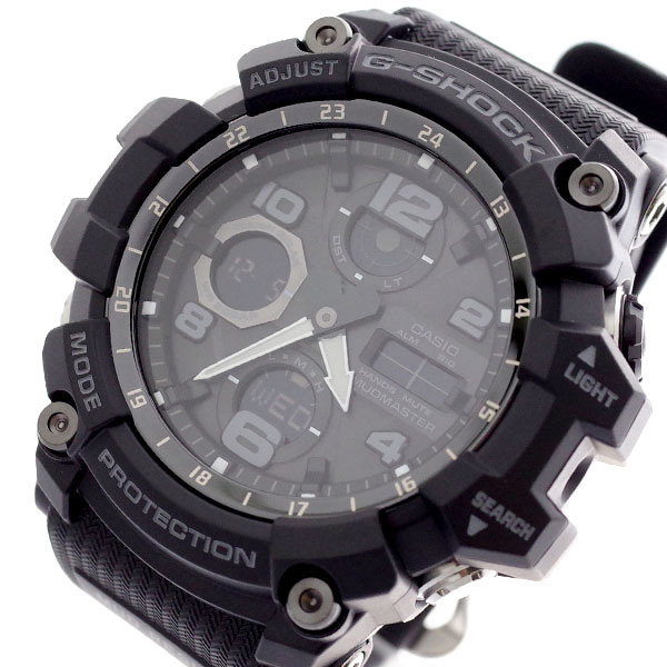 カシオ CASIO 腕時計 メンズ GSG-100-1A Gショック G-SHOCK クォーツ ブラック ブラック【送料無料】