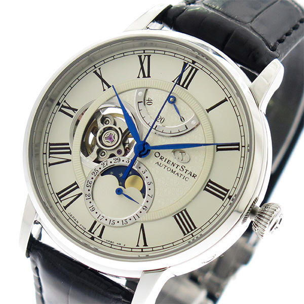 オリエントスター ORIENT STAR 腕時計 メンズ RK-AM0001S 自動巻き ホワイト ブラック 国内正規 ホワイト【送料無料】