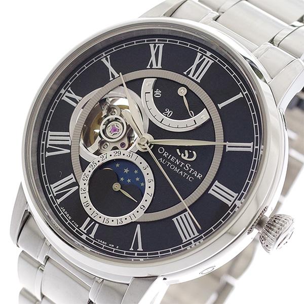 オリエントスター ORIENT STAR 腕時計 メンズ RK-AM0004B 自動巻き ブラック シルバー 国内正規 ブラック【送料無料】