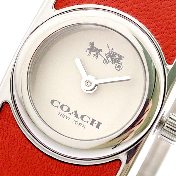コーチ COACH 腕時計 レディース 14502733 クォーツ オフホワイト コーラル コーラル【送料無料】