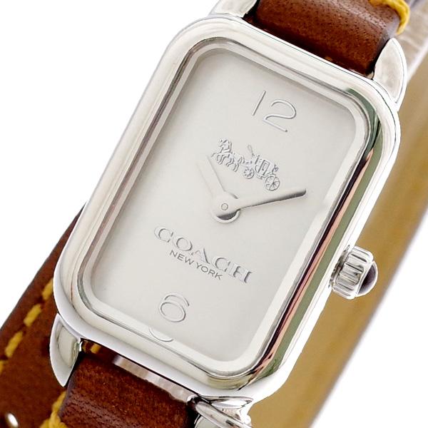 コーチ COACH 腕時計 レディース 14502775 クォーツ シルバー ブラウン ブラウン【ポイント10倍】