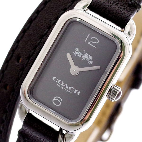コーチ COACH 腕時計 レディース 14502776 クォーツ ブラック ブラック【送料無料】