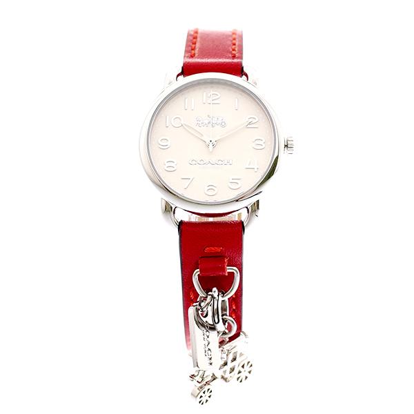 コーチ COACH 腕時計 レディース 14502814 クォーツ オフホワイト レッド レッド【ポイント10倍】