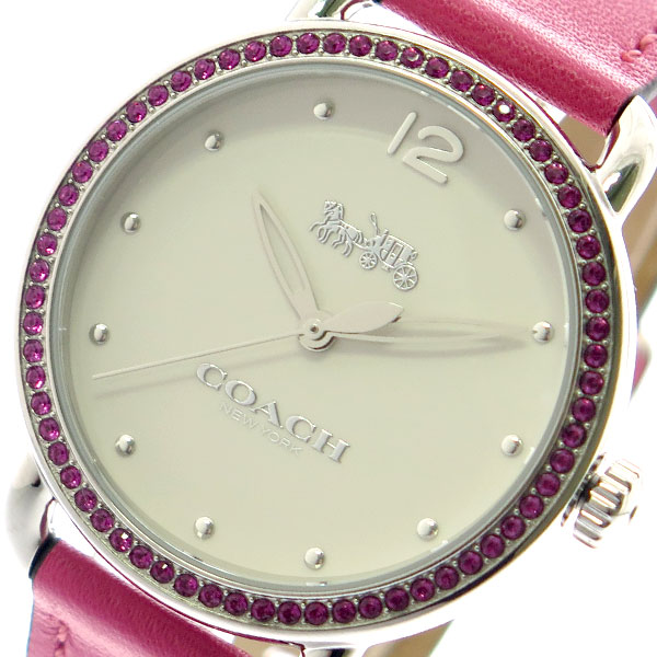 コーチ COACH 腕時計 レディース 14502879 クォーツ オフホワイト ピンク ピンク【送料無料】