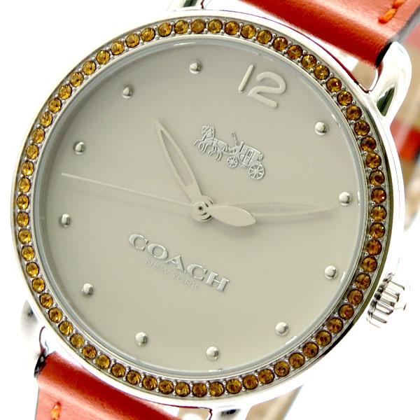 コーチ COACH 腕時計 レディース 14502880 クォーツ オフホワイト オレンジ オレンジ【送料無料】