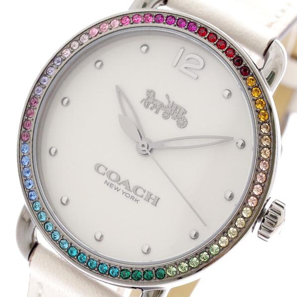 コーチ COACH 腕時計 レディース 14502888 クォーツ オフホワイト マルチカラー【送料無料】