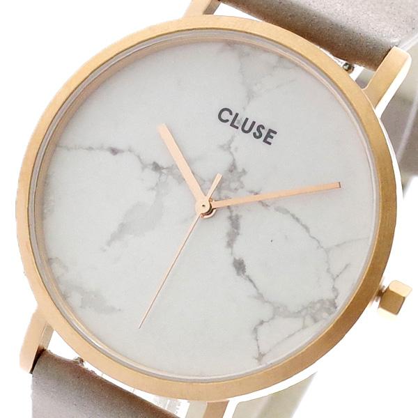 クルース CLUSE 腕時計 レディース CL40005 クォーツ ホワイトマーブル グレー グレー【送料無料】