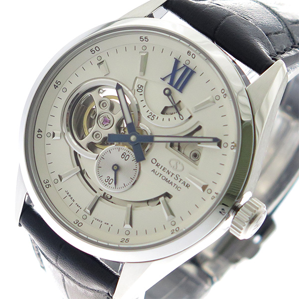 オリエントスター ORIENT STAR 腕時計 メンズ RK-AV0007S 自動巻き オフホワイト ブラック 国内正規 オフホワイト【送料無料】