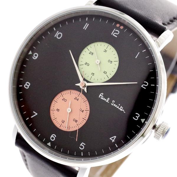 ポールスミス PAUL SMITH 腕時計 メンズ PS0070004 クォーツ ブラック ブラック【送料無料】