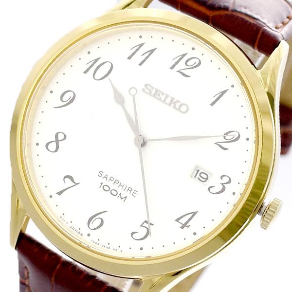 セイコー SEIKO 腕時計 メンズ SGEH78P1 クォーツ ホワイト ブラウン ホワイト【送料無料】
