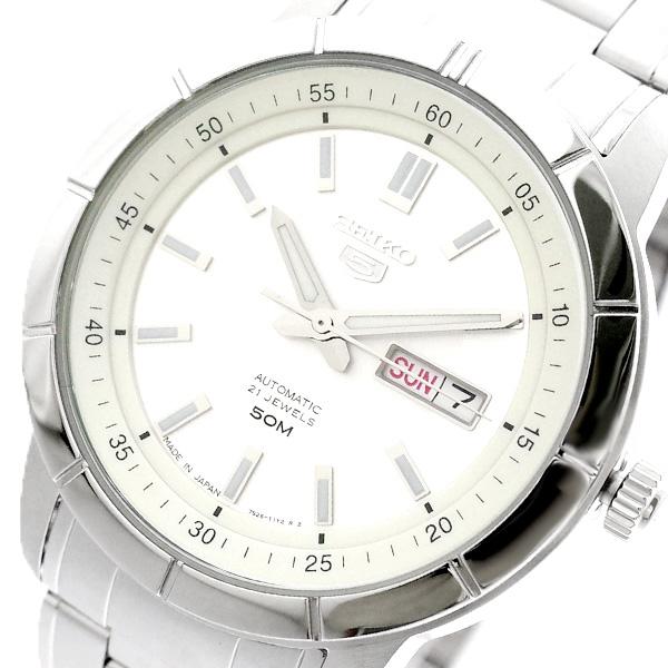 セイコー SEIKO 腕時計 メンズ SNKN51J1 セイコー5 SEIKO5 自動巻き シルバー シルバー【送料無料】