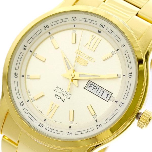 セイコー SEIKO 腕時計 メンズ SNKP20J1 セイコー5 SEIKO5 自動巻き ゴールド ゴールド【送料無料】