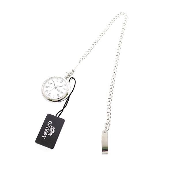 オリエント ORIENT 懐中時計 メンズ FDD00002W0 WV0031DD 手巻き ホワイト シルバー ホワイト【送料無料】