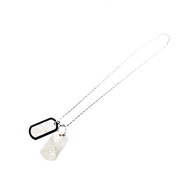 ディーゼル DIESEL ネックレス メンズ DX0011040 シルバー シルバー【送料無料】