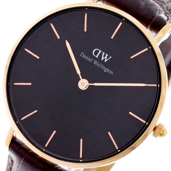 ダニエルウェリントン DANIEL WELLINGTON 腕時計 レディース DW00100170 クラシックペティート 32MM ブラック【送料無料】