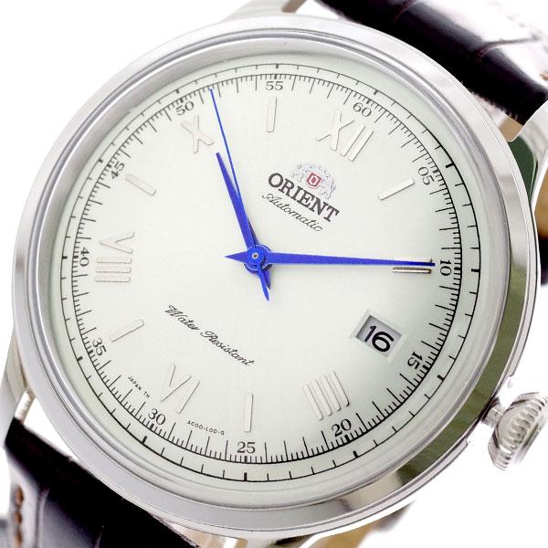 オリエント ORIENT 腕時計 メンズ SAC00009W0 バンビーノ BAMBINO 自動巻き パールホワイト ダークブラウン パールホワイト【送料無料】