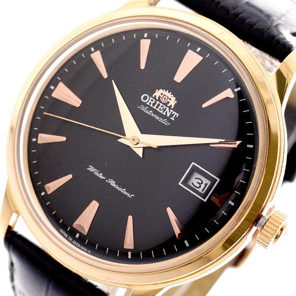 オリエント ORIENT 腕時計 メンズ SAC00001B0 バンビーノ BAMBINO 自動巻き ブラック ブラック【送料無料】
