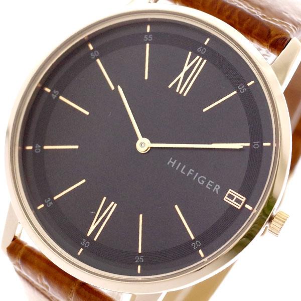 トミーヒルフィガー TOMMY HILFIGER 腕時計 メンズ レディース 1791516 クーパー COOPER クォーツ ブラック キャメル ブラック【送料無料】