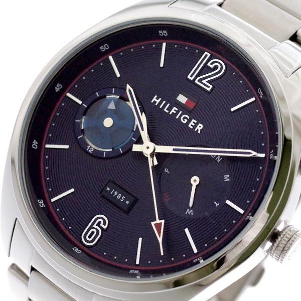 トミーヒルフィガー TOMMY HILFIGER 腕時計 メンズ 1791551 クォーツ ネイビー シルバー ネイビー【送料無料】
