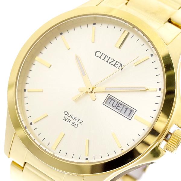 シチズン CITIZEN 腕時計 メンズ BF2003-84P クォーツ ゴールド ゴールド【送料無料】