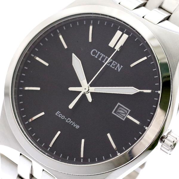シチズン CITIZEN 腕時計 メンズ BM7330-67E クォーツ ブラック シルバー ブラック【送料無料】