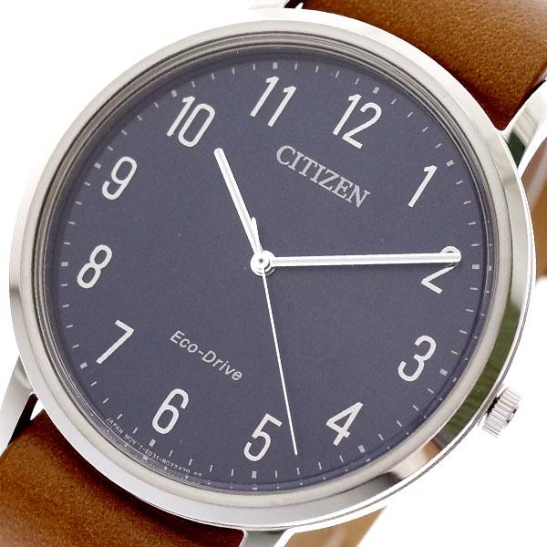 シチズン CITIZEN 腕時計 メンズ BJ6501-10L クォーツ ダークネイビー キャメル ダークネイビー【送料無料】