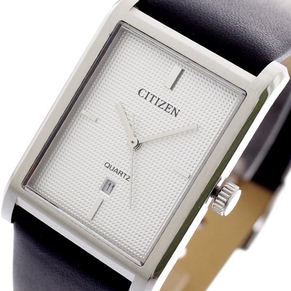 シチズン CITIZEN 腕時計 メンズ BH3001-06A クォーツ シルバー ブラック シルバー