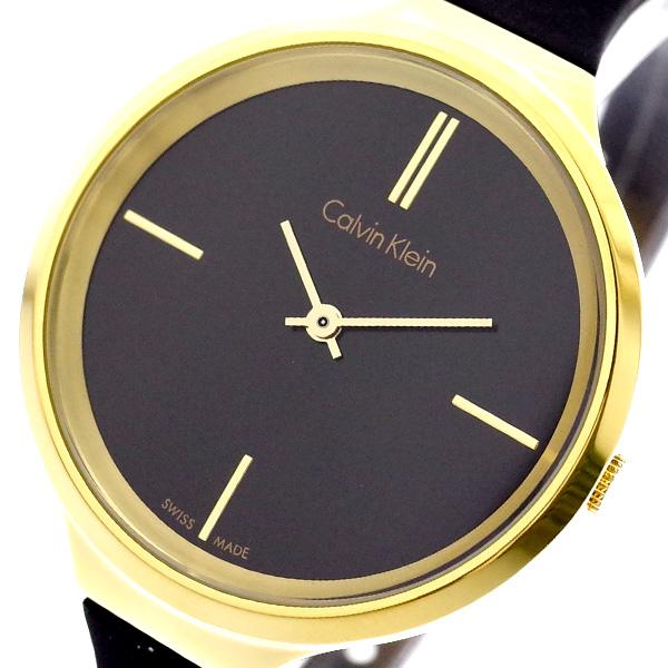 カルバンクライン CALVIN KLEIN 腕時計 レディース K4U235B1 ライブリー LIVELY クォーツ ブラック ブラック