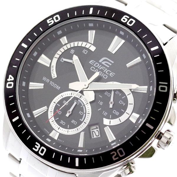 カシオ CASIO 腕時計 メンズ EFR-552D-1AV エディフィス EDIFICE クォーツ ブラック シルバー ブラック【送料無料】