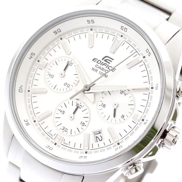 カシオ CASIO 腕時計 メンズ EFR-527D-7AV エディフィス EDIFICE クォーツ シルバー シルバー【送料無料】