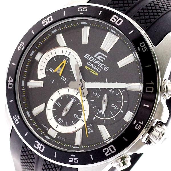 カシオ CASIO 腕時計 メンズ EFV-570P-1AV エディフィス EDIFICE クォーツ ブラック ブラック【送料無料】