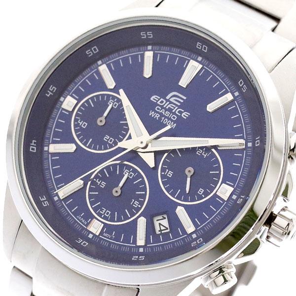 カシオ CASIO 腕時計 メンズ EFR-527D-2AV エディフィス EDIFICE クォーツ ブルー シルバー ブルー【送料無料】
