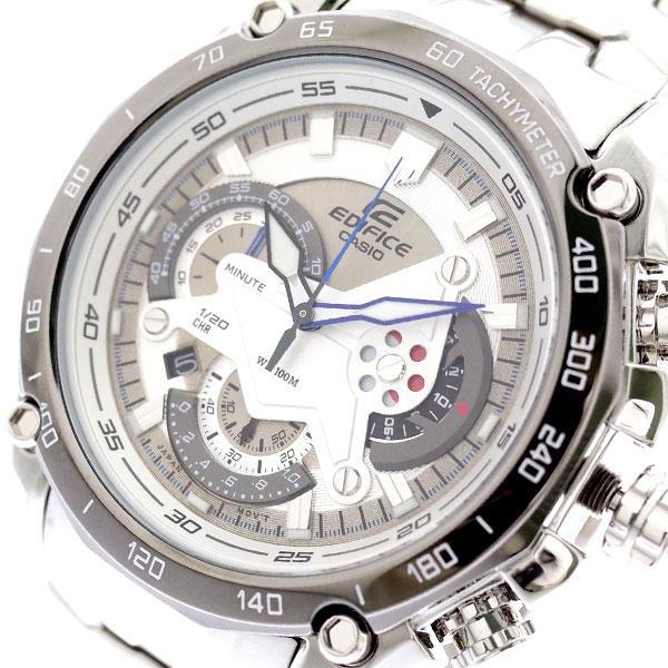 カシオ CASIO 腕時計 メンズ EF-550D-7AV エディフィス EDIFICE クォーツ シルバー シルバー【送料無料】