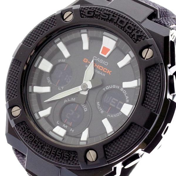 カシオ CASIO 腕時計 メンズ GST-S130BC-1A Gショック G-SHOCK クォーツ ブラック ブラック【送料無料】