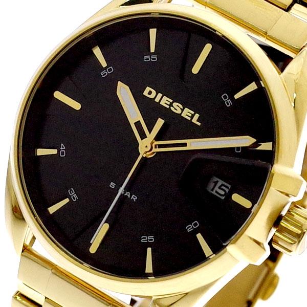 ディーゼル DIESEL 腕時計 メンズ DZ1865 クォーツ ブラック ゴールド ゴールド【送料無料】