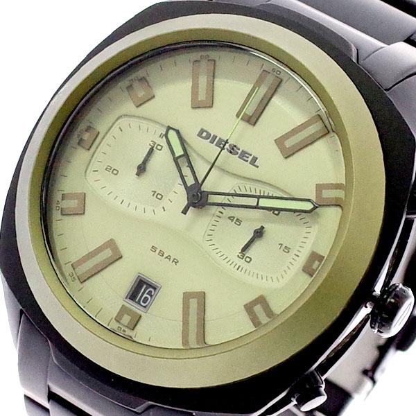 ディーゼル DIESEL 腕時計 メンズ DZ4497 クォーツ ベージュゴールド ブラック ベージュゴールド【送料無料】