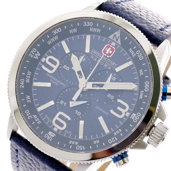 スイスミリタリー SWISS MILITARY 腕時計 メンズ ML-399 クォーツ ネイビー ネイビー【送料無料】