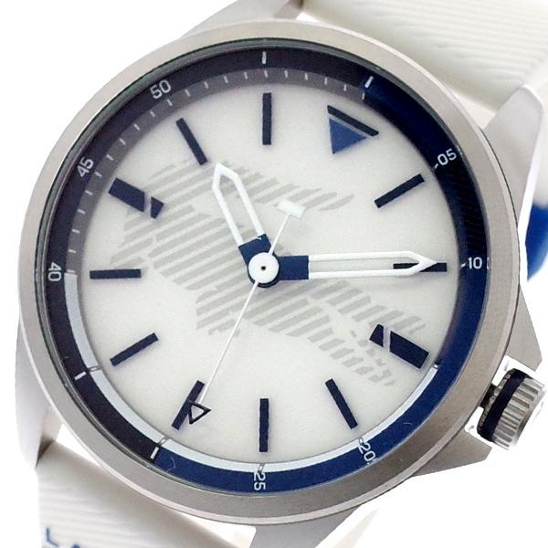 ラコステ LACOSTE 腕時計 メンズ 2010942 CAPBRETON クォーツ ホワイト ホワイト【送料無料】