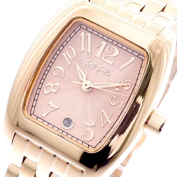 フォリフォリ FOLLI FOLLIE 腕時計 レディース WF5R080BDP-XX S922 クォーツ ピンクゴールド ピンク【送料無料】