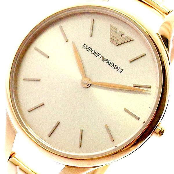 エンポリオアルマーニ EMPORIO ARMANI 腕時計 レディース AR11055 クォーツ ピンクゴールド ピンクゴールド【送料無料】